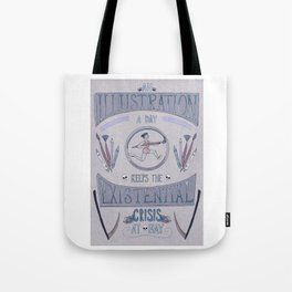 An Illustration A Day Tote Bag
