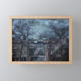 The Montreal Mystery Framed Mini Art Print
