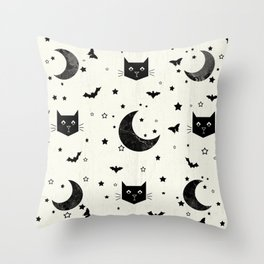 Blackout Throw Pillow