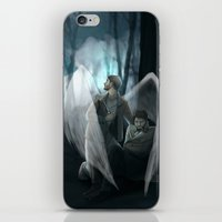 verse iPhone & iPod Skins featuring Reverse!verse Purgatory by Justyna Rerak