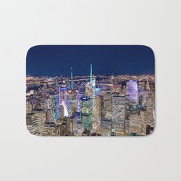 New York City Skyline Bath Mat