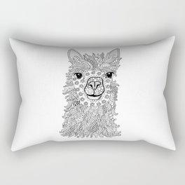 Llama patterns Rectangular Pillow
