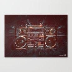 DARK RADIO Canvas Print