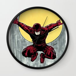 Daredevil. The man without fear Wall Clock