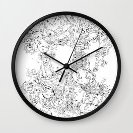 Pasolini`s Garden Wall Clock