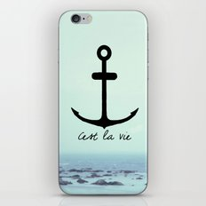Cest La Vie (Anchor) iPhone & iPod Skin