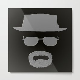 walter white breaking bad Metal Print