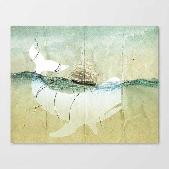 The crusade Canvas Print