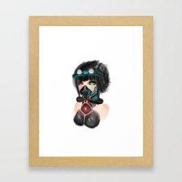 Cyberpunk Framed Art Print