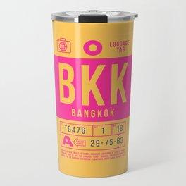 Luggage Tag B - BKK Bangkok Thailand Travel Mug
