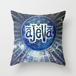 Ajeva Temple Throw Pillow