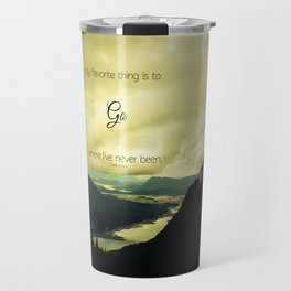 Where I've Never Been Travel Mug