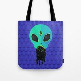 Alien Flu Tote Bag