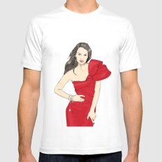 Girl in style Mens Fitted Tee MEDIUM White