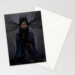 Light within the darkness Stationery Cards