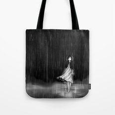 ... as the rain fell on me Tote Bag