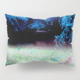 Enchanted Park Turquoise Pillow Sham