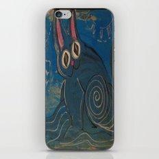 Wave Kitty iPhone & iPod Skin