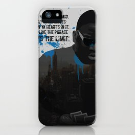 """""""Sky's the Limit"""" iPhone Case"""