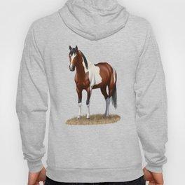 Beautiful Bay Pinto Quarter Horse Hoody