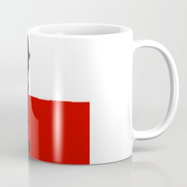 Chilean Flag with Map of Chile Coffee Mug