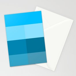 Multiple of Blue Stationery Cards