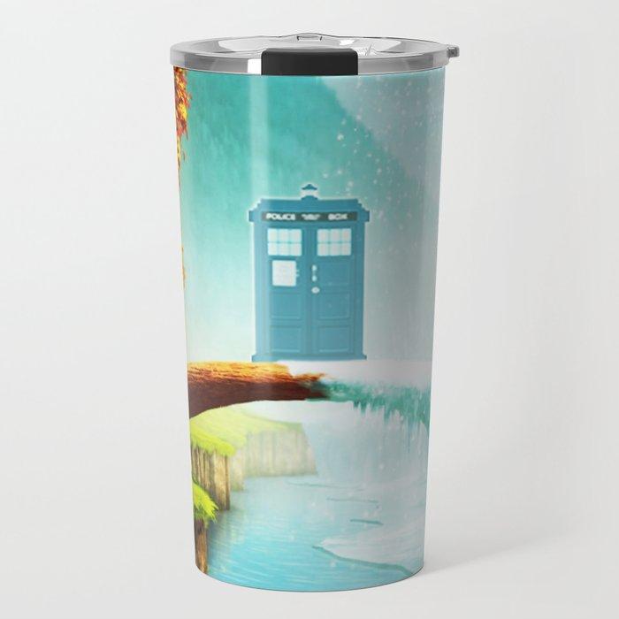 Tardis Season Travel Mug