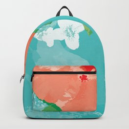 Hibiscus Bliss Backpack