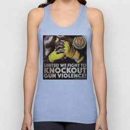 United We Fight to Knockout Gun Violence Unisex Tank Top