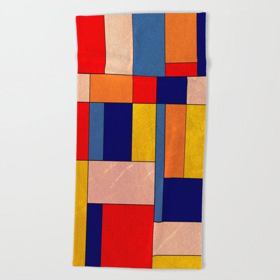 Abstract #340 Beach Towel