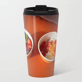 Frozen Yogurt Decisions Travel Mug