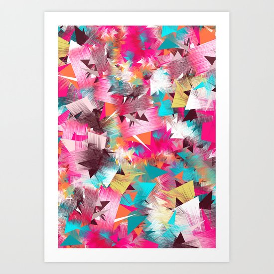 Colorful Place Art Print