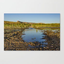 Pentecost River Crossing Canvas Print