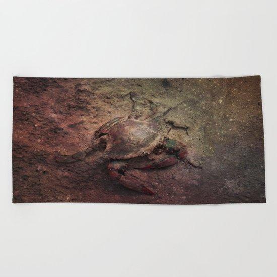 Crab Nebula Beach Towel
