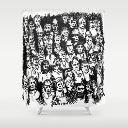 Rush Hour Shower Curtain