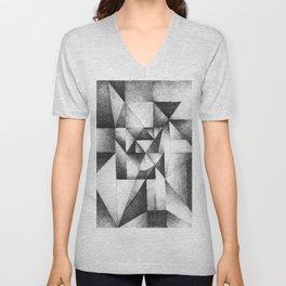geometric Unisex V-Neck