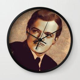 Van Heflin, Movie Legend Wall Clock