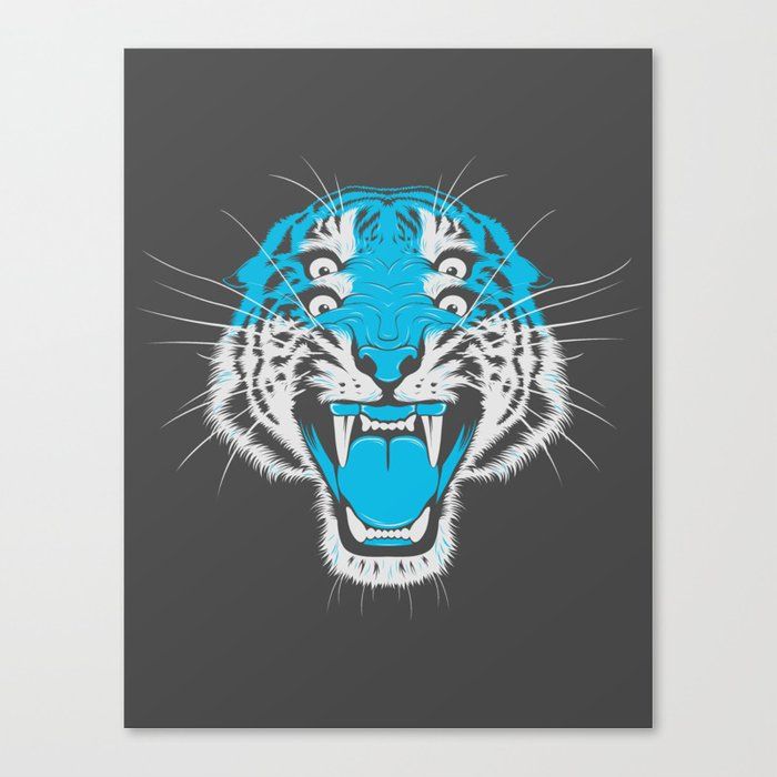 Tiger Head Canvas Print