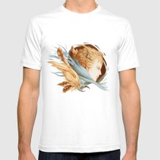Harbinger White SMALL Mens Fitted Tee