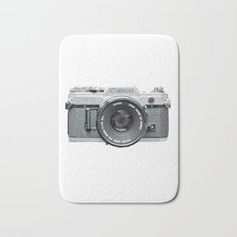 Vintage Camera Phone Bath Mat
