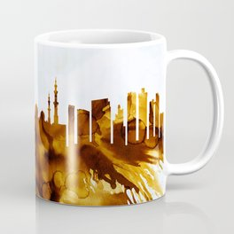 Abu Dhabi UAE Skyline Coffee Mug