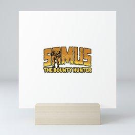 Samus the Bounty Hunter Mini Art Print