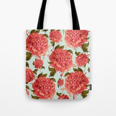A Splash of Peony, A Dash of Color Tote Bag