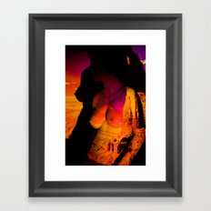 Stolen Sunset: Projection Series #4 Framed Art Print