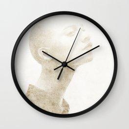 Bald Lady - 4 Wall Clock
