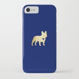 French Bulldog Gold iPhone Case