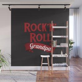 Grandpa Rocks!!! Wall Mural