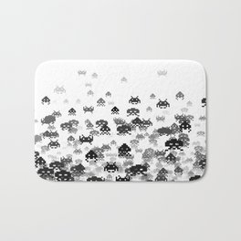 Invaded III B&W Bath Mat