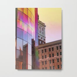 Technicolor in Tulsa 2.0 Metal Print