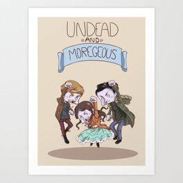 In the Flesh - Moregeous Art Print